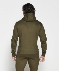 Fitness Hoodie Tapered Kaki - Pursue Fitness-3