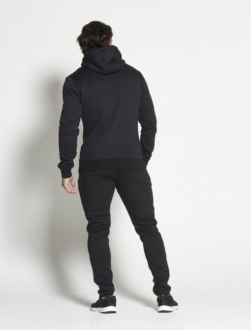 Fitness Hoodie Tapered Zwart - Pursue Fitness-2