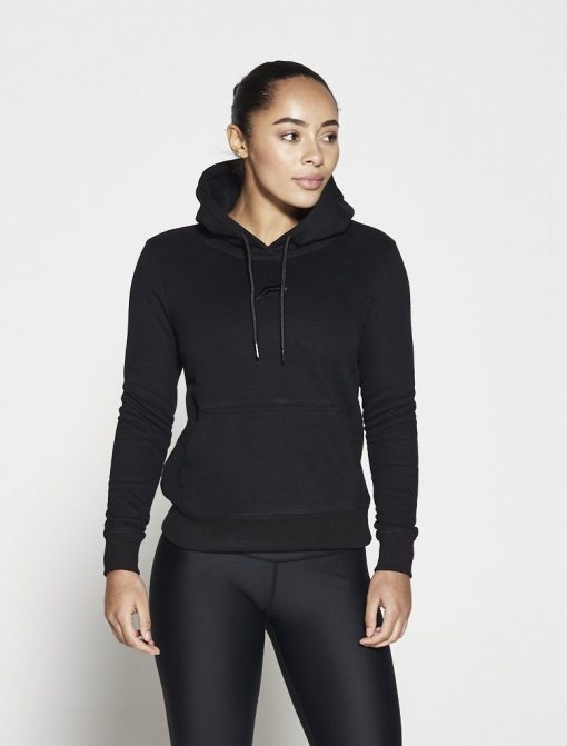 Fitness Hoodie Zwart - Pursue Fitness-1