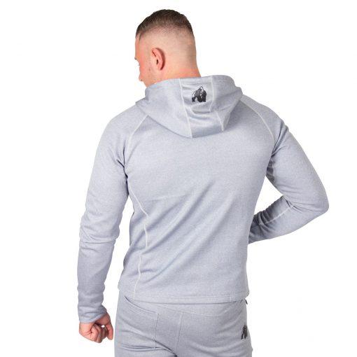 Hoodie Blauw Zilver Bridgeport - Gorilla Wear-2