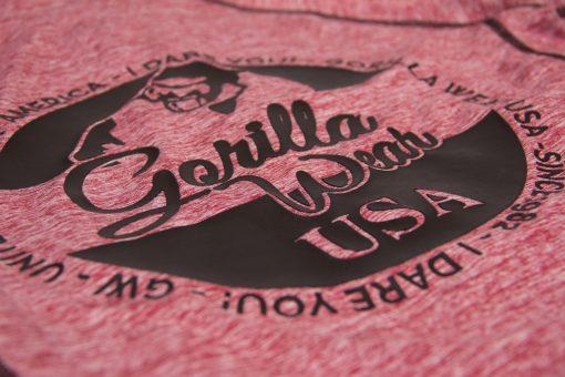 Hoodie Dames Rood Shawnee - Gorilla Wear-4