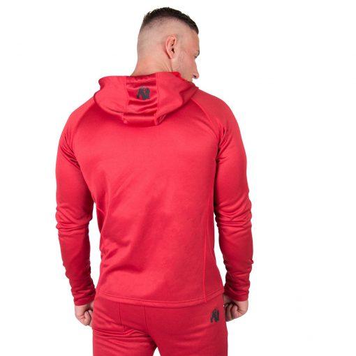Hoodie Rood Bridgeport - Gorilla Wear-2