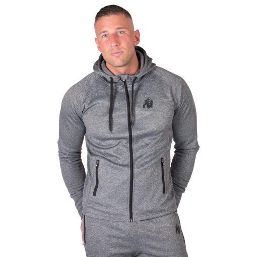 Hoodie Zwart Bridgeport - Gorilla Wear-1