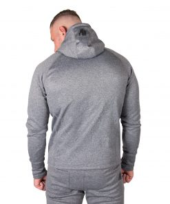 Hoodie Zwart Bridgeport - Gorilla Wear-2