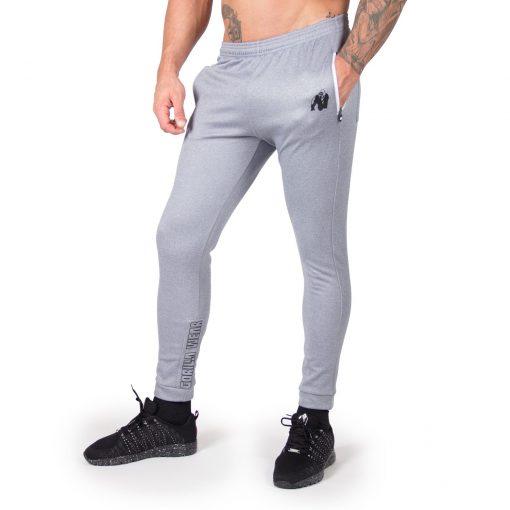 Joggingsbroek Blauw Zilver Bridgeport - Gorilla Wear-1