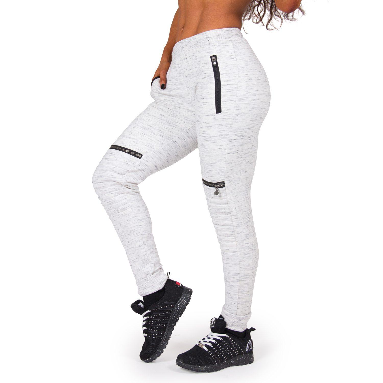 Joggingbroek Voor Dames.Joggingsbroek Dames Grijs Tampa Gorilla Wear Bodybuildingkleding Com
