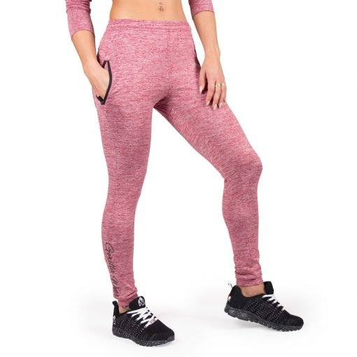Joggingsbroek Dames Rood Shawnee - Gorilla Wear-1
