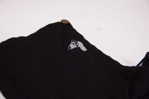 Joggingsbroek Dames Zwart Dolores Dungarees - Gorilla Wear-5