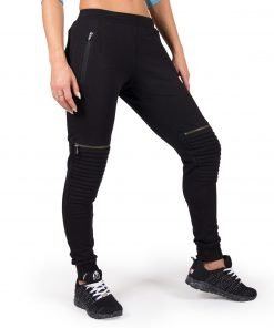 Joggingsbroek Dames Zwart Tampa - Gorilla Wear-1