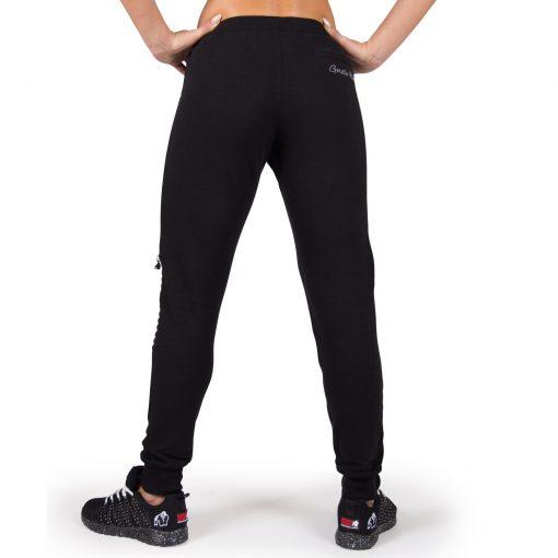 Joggingsbroek Dames Zwart Tampa - Gorilla Wear-2