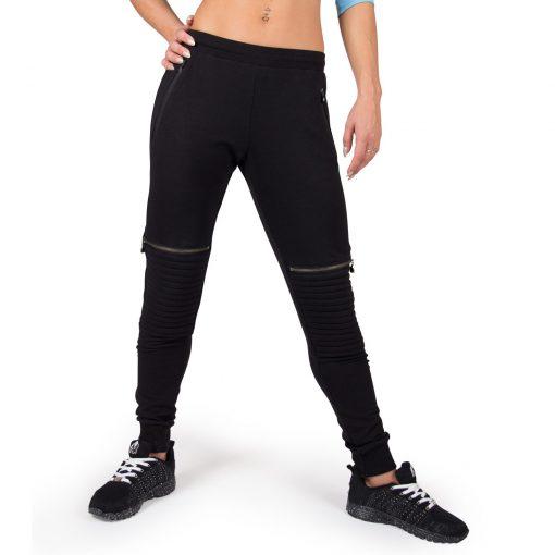 Joggingsbroek Dames Zwart Tampa - Gorilla Wear-3