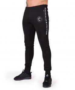 Joggingsbroek-Mannen Zwart Saint Thomas - Gorilla Wear-1