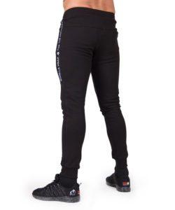 Joggingsbroek-Mannen Zwart Saint Thomas - Gorilla Wear-2