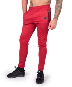 Joggingsbroek Rood Bridgeport - Gorilla Wear-1