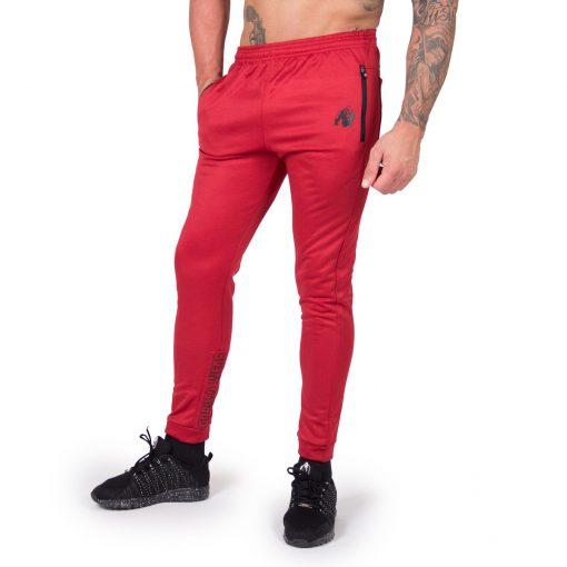 Joggingsbroek Rood Bridgeport - Gorilla Wear-1