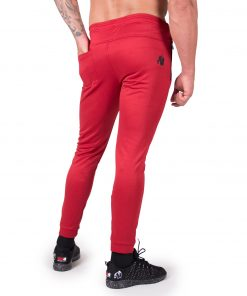 Joggingsbroek Rood Bridgeport - Gorilla Wear-2