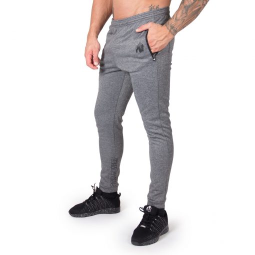 Joggingsbroek Zwart Bridgeport - Gorilla Wear-1