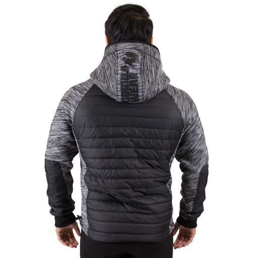 Paxville Jacket Zwart Grijs - Gorilla Wear-2