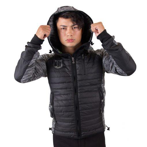 Paxville Jacket Zwart Grijs - Gorilla Wear-3