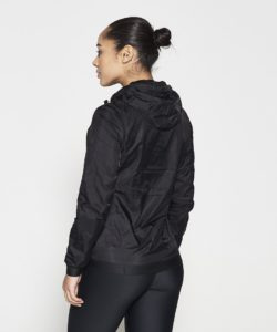 Running Jacket Zwart - Pursue Fitness-2