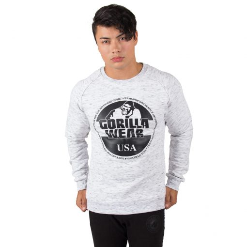 Sweatshirt Grijs Bloomington - Gorilla Wear-1