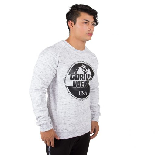 Sweatshirt Grijs Bloomington - Gorilla Wear-3