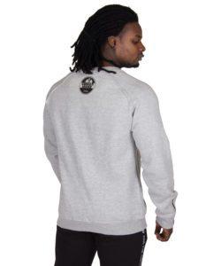 Sweatshirt Grijs Durango Crewneck - Gorilla Wear-2