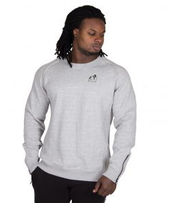 Sweatshirt Grijs Durango Crewneck - Gorilla Wear-1