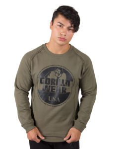 Sweatshirt Groen Bloomington - Gorilla Wear-1