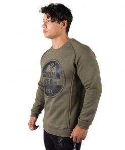 Sweatshirt Groen Bloomington - Gorilla Wear-3