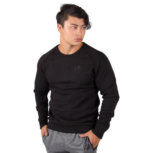 Sweatshirt Zwart Durango Crewneck - Gorilla Wear-1