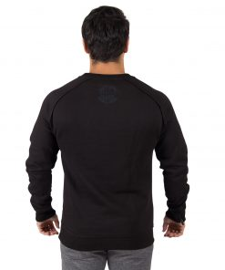 Sweatshirt Zwart Durango Crewneck - Gorilla Wear-2