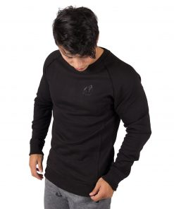 Sweatshirt Zwart Durango Crewneck - Gorilla Wear-3