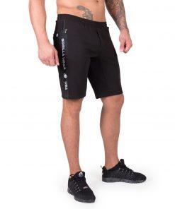 Sweatshorts Zwart Saint Thomas - Gorilla Wear-1