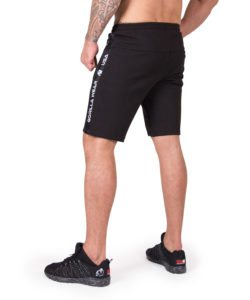Sweatshorts Zwart Saint Thomas - Gorilla Wear-2