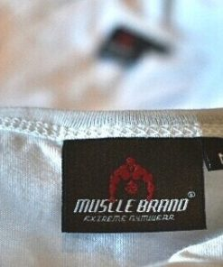 tank top typed wit 3 - Muscle brand