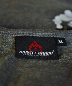 tanktop vertical grijs 3 - Muscle brand