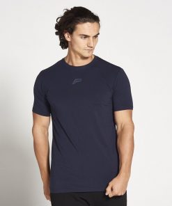 Fitness T-shirt Heren blauw stretch - Pursue Fitness-2