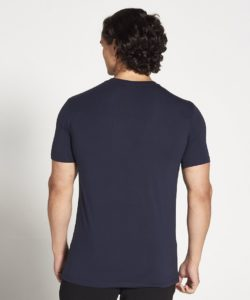 Fitness T-shirt Heren blauw stretch – Pursue Fitness-3