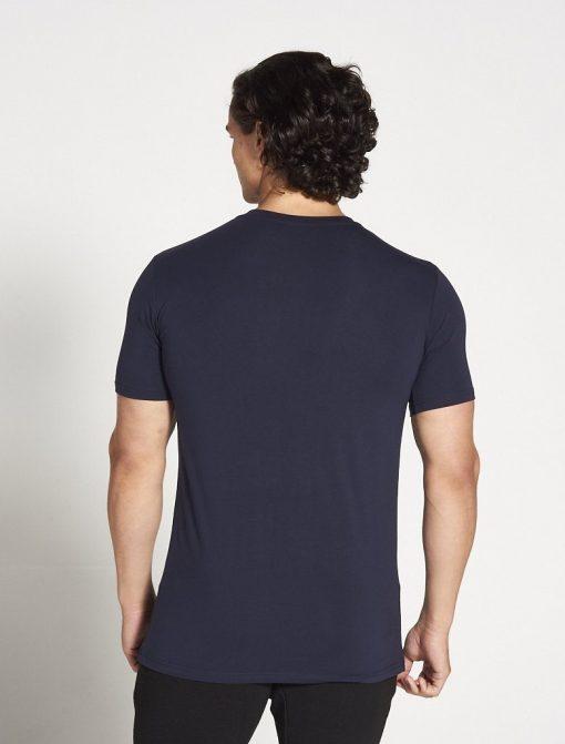 Fitness T-shirt Heren blauw stretch - Pursue Fitness-3