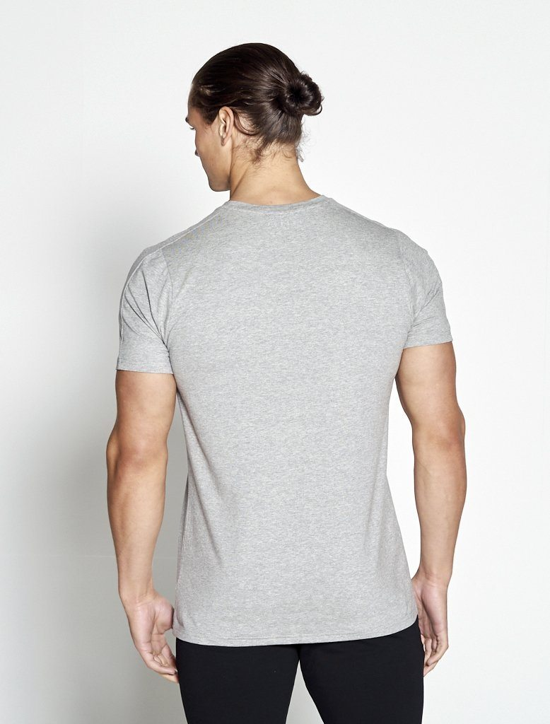 Fitness T-shirt Heren grijs - Pursue Fitness-2