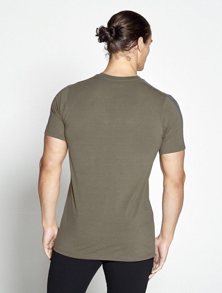 Fitness T-shirt Heren kaki - Pursue Fitness-2