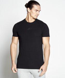Fitness T-shirt Heren zwart - Pursue Fitness-1
