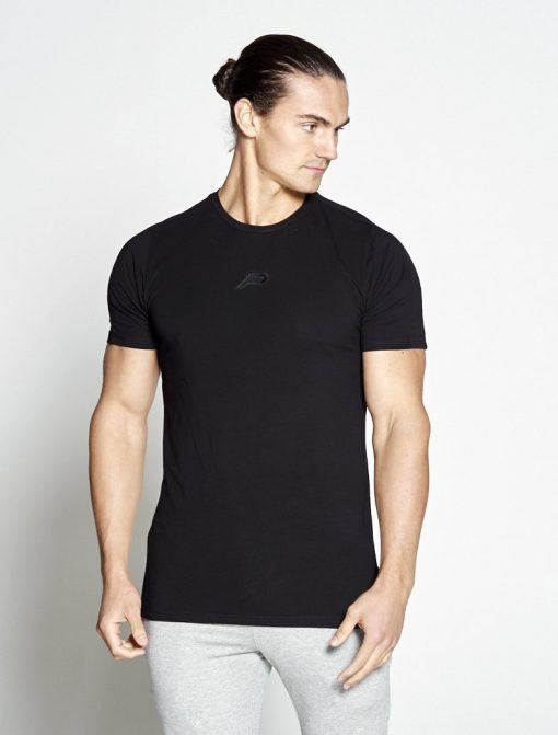 Fitness T-shirt Heren zwart - Pursue Fitness-1