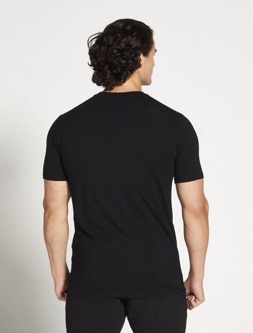 Fitness T-shirt Heren zwart stretch - Pursue Fitness-2