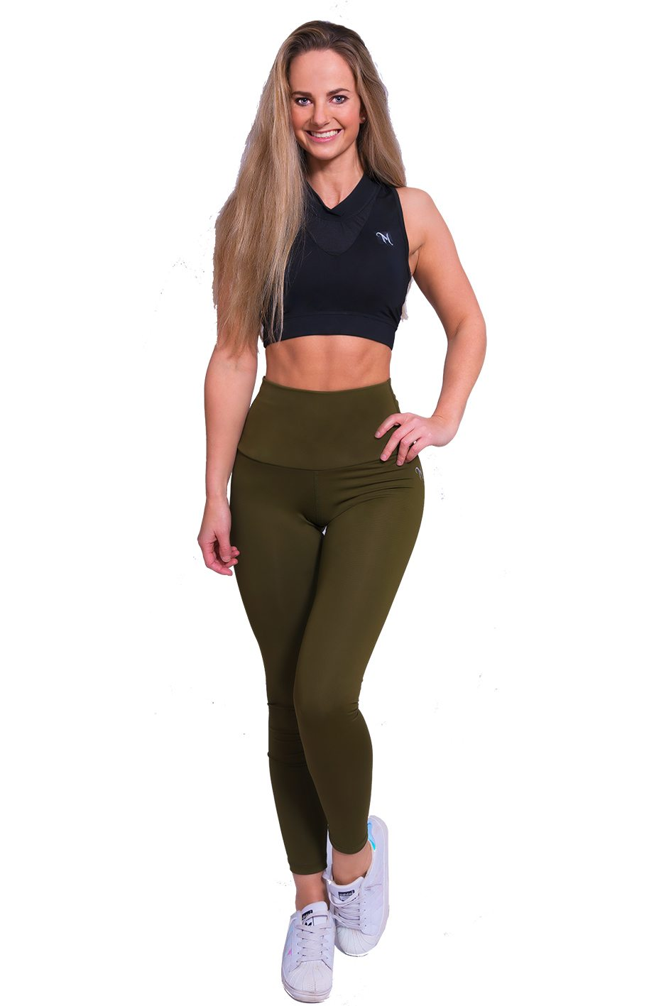 Mfit high waist legging kaki