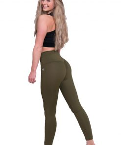 Mfit high waist legging kaki 2