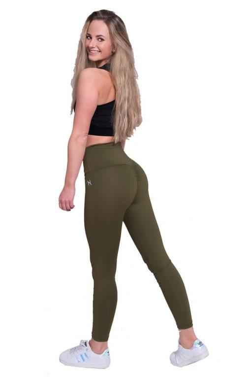 Mfit high waist legging kaki 2