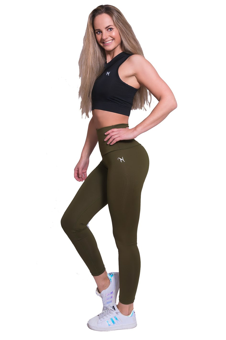 Mfit high waist legging kaki 3