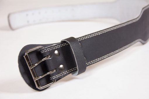 Gorilla-Wear-4-Inch-Padded-Leather-Belt-Zwart-5